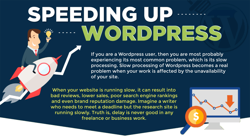 8 Ways to Speed up Your WordPress Website [Infographic]
